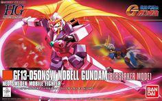 Nobel Gundam Berserker Mode (HGFC) (Gundam Model Kits) Other picture2