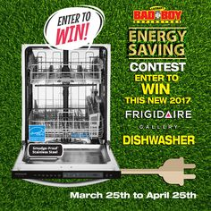 Enter to win a Frigidaire Gallery Dishwasher from Lastman's Bad Boy