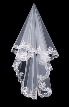Sweep White #Veils Style Code: 07921 $24.99