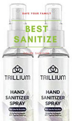 Trillium Best Hand Sanitizer Make - Spray 80% Alcohol (Made in USA) #crochet #crochetpattern #Mask #Respirators #fashion #style #Corona #sanitizer #covid #handsanitizer #coronavirus #corona #staysafe #stayhome #mask #virus #sanitize #washyourhands #quarantine #clean #lockdown #socialdistancing #stayathome #disinfectant #sanitizers #skincare #health #antibacterial #facemask #stayhealthy #masker #sanitizermurah #pandemic #sanitizerspray #handwash #masks #bhfyp Best Hand Sanitizer, Alcohol Free, Spray Bottle, How To Stay Healthy, Aloe, Fragrance, Soap, Hands, Skin Care