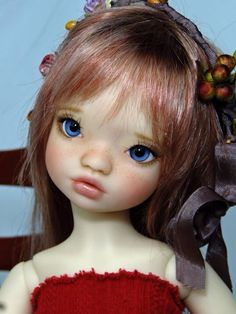 Fair Elleki MSD BJD by MeadowDolls... Customized by Fireflies*and Blossoms