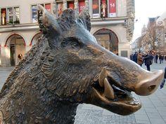 boar sculpture - Google Search