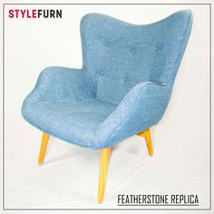 Always trendy these things are bloody awesome! Great colour with natural polished hardwood legs. Armchairs, Accent Chairs, Hardwood, Lounge, Colour, Legs, Natural, Awesome, Room
