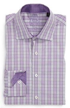 English Laundry Trim Fit Dress Shirt   Nordstrom