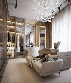 Modern Luxury Bedroom, Luxury Bedroom Design, Bedroom Closet Design, Home Room Design, Dream Home Design, Luxurious Bedrooms, Home Decor Bedroom, Luxury Interior, Home Interior Design