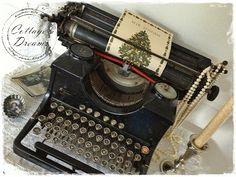 old world typewriter