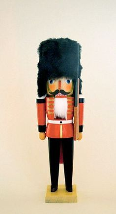 Englishman Palace Guard German Wooden Christmas Nutcracker