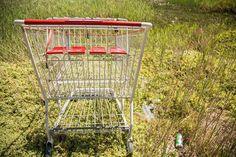 Abandoned trolleys