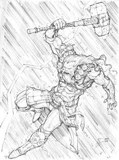 God of Thunder by Max-Dunbar