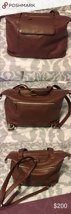 18751db2be32 Lily Jade Leather Diaper Bags. Madeline Brandy   Silver