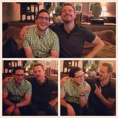 Michael Fassbender on Happy Sad Confused with Josh Horowitz, August 9, 2014. | http://www.happysadconfused.com/2014/08/11/michael-fassbender/