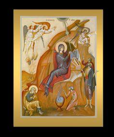 George Kordis (Greece) Byzantine Icons, Byzantine Art, Religious Icons, Religious Art, Church Icon, Paint Icon, Orthodox Icons, Sacred Art, Photo Galleries
