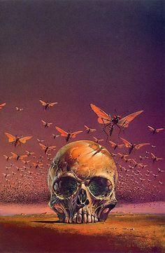 Bruce Pennington art for Frank Herbert's The Green Brain