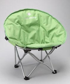 Take a look at this Green Medium Moon Camp Chair by Lucky Bums on #zulily today!