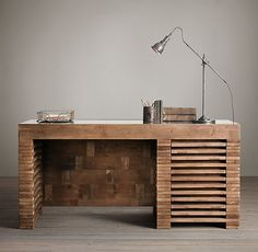 Desk for Aaron's office. We could make this; I know we could!