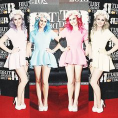 Perrie :) <<<< I got really confused by this picture... Probably cause it's late at night and Perrie's had so many hair colors that I don't know which edits are real or not