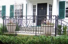 Picture Wrought Iron Fences, Photo Galleries, Deck, Gallery, Outdoor Decor, Home Decor, Decoration Home, Roof Rack, Room Decor