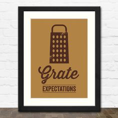 Grate Expectations Print - Dickens with a Cheesy Twist