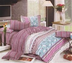 Charming Orchid Ocean Twin XL Comforter Set   Cheap Twin XL Bedding Accessories