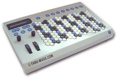 "C-Thru Music Axis-64 MIDI controller.  Uses ""Harmonic Table"" note arrangement."