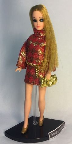 Vintage Topper Dawn Doll/H11A In Doll Fashion By Premier w/Accessories