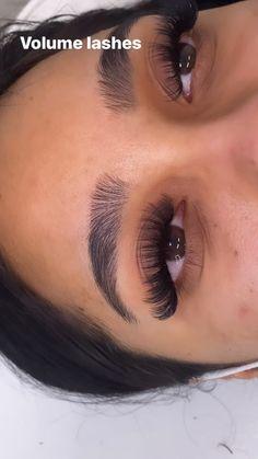 Types Of Eyelash Extensions, Mink Lash Extensions, Natural Looking Eyelash Extensions, Natural Fake Eyelashes, Perfect Eyelashes, Wispy Lashes, Big Lashes, Black Girl Makeup, Beauty Tutorials