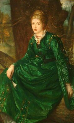 Miss Virginia Julian Dalrymple (Mrs Francis Champneys) by George Frederic Watts  Watts Gallery Date painted: 1872