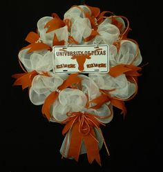 deco mesh ribbon wreaths - Bing Images