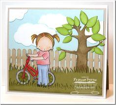 Pure Innocence I Wheelie Like You; Jumbo Cloud STAX Die-namics; Picket Fence Die-namics; Grassy Edges Die-namics; Sheltering Tree and Leaf Trio Die-namics - Frances Byrne