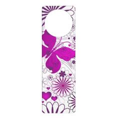 Discount Deals Fun Colorful Butterfly Flower Fractal Pattern Door Knob Hangers Yes I can say you are on right site we just collected best shopping store that have