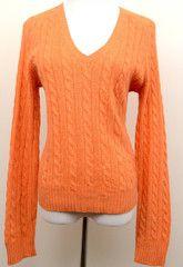 J. Crew Orange Sweater Size L