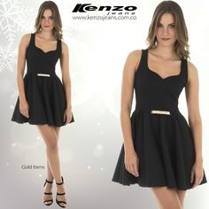 Un #look para el día más esperado de la semana viernes,  resalta tu #outfit con toques dorados y llenos de brillo, encuentra esto y mucho más en www.kenzojeans.com.co compra ahora en ow.ly/VLjhN