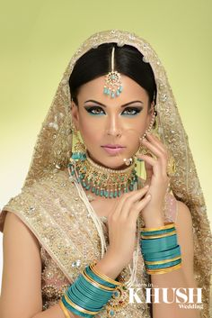 Look radiant on your Big Day with a bridal makeover by Majestic Beauty  London based, Nationwide coverage T: +44(0)7712 621 492 (By appointment only) W: www.majesticbeauty.co.uk Email: info@majesticbeauty.co.uk  Outfit: Brocade London - By Sarah Jewellery: Almas Jewels Bangles: The Lotus London