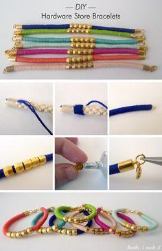 DIY pulseras Más
