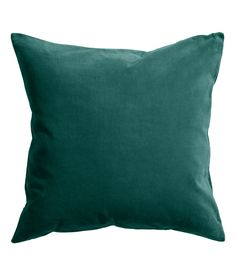 Velvet cushion cover: Cushion cover in cotton velvet with a concealed zip at the bottom. Paint And Paper Library, Sweet Home, Little Greene, Bistro Chairs, H&m Home, Piece A Vivre, Velvet Cushions, Cotton Velvet, Spare Room