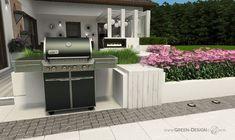 Projekt tarasu z jacuzzi - projekt indywidualny Green Design Jacuzzi, Landscape Architecture, Spa, Outdoor Decor, Design, Home Decor, Projects, Decoration Home, Room Decor
