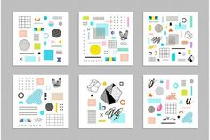 Just a Bits Vector Pack by Lera Efremova on @creativemarket