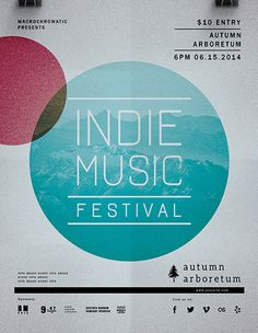 flyer template indie festival concert flyer template best free and premium flyer templates at flyer design showcase - Free Flyer Design Templates