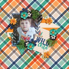 Wild Child by Kristin Cronin Barrow and Shawna Clingerman  May Grab Bag 3 Template by Miss Mel