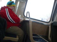 Cartman on a bus!
