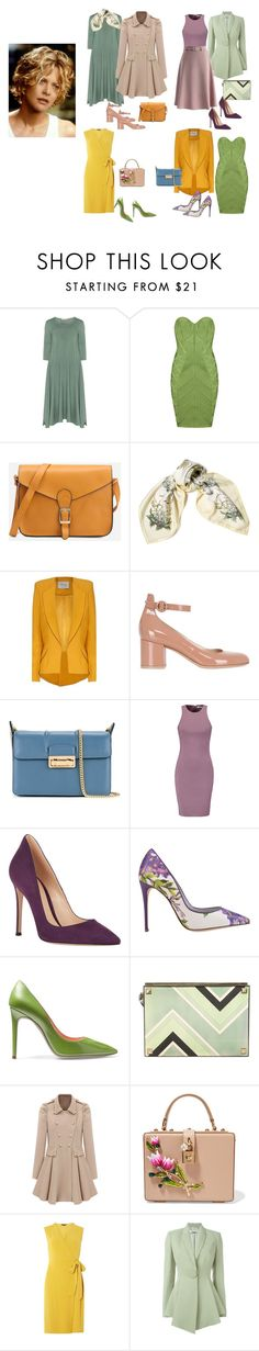 """""""Светлая весна"""" by explorer-14784065508 ❤ liked on Polyvore featuring Isolde Roth, Hermès, Hebe Studio, Gianvito Rossi, Lanvin, Elizabeth and James, Dolce&Gabbana, René Caovilla, Jimmy Choo and Dorothy Perkins"""