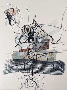 Mono print Linda Cash. Paintings Famous, Famous Artwork, Nature Sketch, Gelli Arts, A Level Art, Abstract Nature, Fashion Painting, Pen Art, Print Artist
