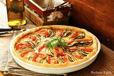Madame Edith: Tarta z cukinią Devils Food, Ratatouille, Bon Appetit, Vegetable Pizza, Vegetables, Ethnic Recipes, 3, Drinks, Pies
