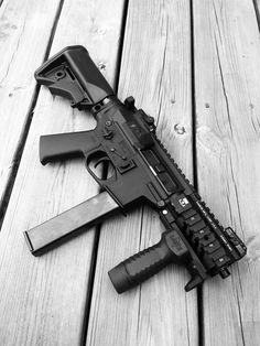 "5.5"" 9mm QC10 GSF build, TiRant 45 tri lug"