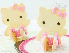 Hello Kitty Cookies 3d cookiescool, cake, hello kitti, kitti cooki, yummi treat, kitti treat, cookiescandi cupcak, hellokitti, hello kitty