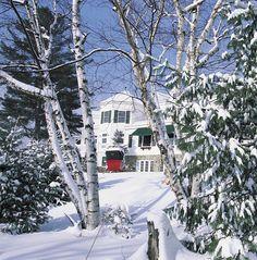 pretty!  Mirror Lake Inn / Adirondacks, NY