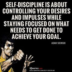 What comes to mind when you think about self-discipline? What does it actually mean to discipline yourself? And what value can it bring into our lives?