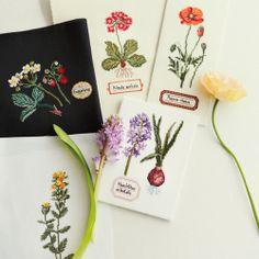 pined by nidnirand* June 2014zakka collection [雑貨コレクション]|世界がさらに美しく輝く クロスステッチボタニカルアートの会|フェリシモ
