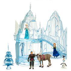 Journey into shopDisney's Frozen Shop for favorites starring Anna, Elsa & Olaf. The coolest frozen toys, frozen dolls, frozen costumes, frozen ornaments Disney Toys, Disney Art, Elsa Frozen, Disney Frozen, Frozen Merchandise, Disney Princess Dolls, Ice Castles, Walt Disney Animation Studios, Snowy Day