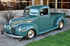 1940 Used Ford Hot Rod Pick-Up at Canepa Serving Scotts Valley . Classic Pickup Trucks, Old Pickup Trucks, Hot Rod Trucks, New Trucks, Custom Trucks, Cool Trucks, Custom Cars, Car Tv Shows, Hot Rod Pickup